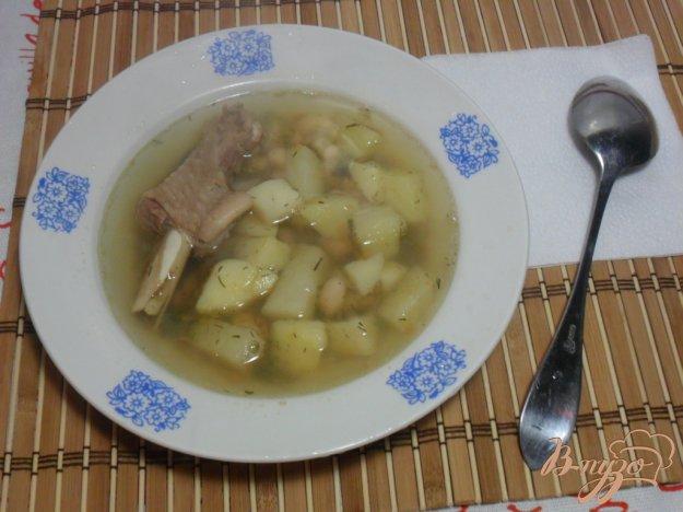 фото рецепта: Куриный суп с фасолью