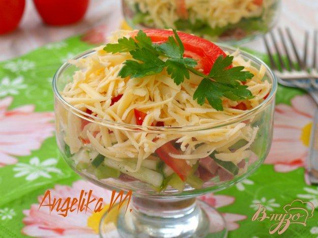 Салат порционный рецепт