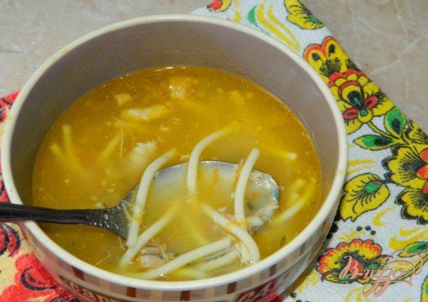 фото рецепта: Быстрый суп с тушёнкой