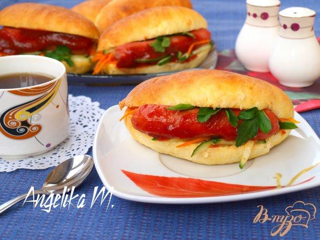 фото рецепта: Домашние хот-доги