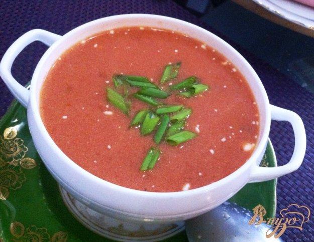 фото рецепта: Томатный суп с макаронами