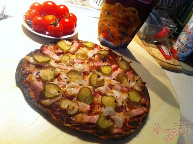 фото рецепта: Пицца по-деревенски