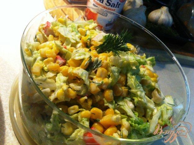 фото рецепта: Салат из пекинской капусты