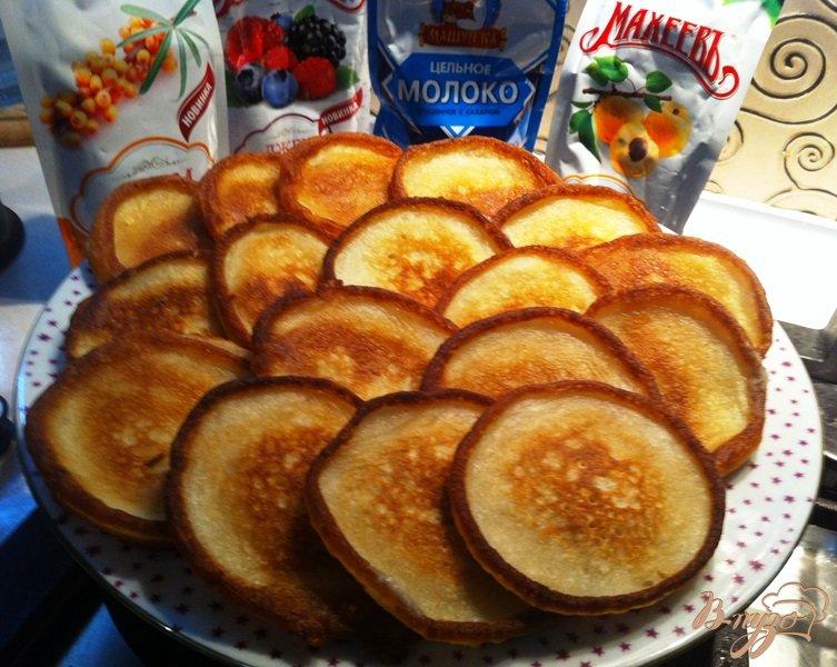 Рецепт оладьи на кислом молоке на дрожжах рецепт с пошагово
