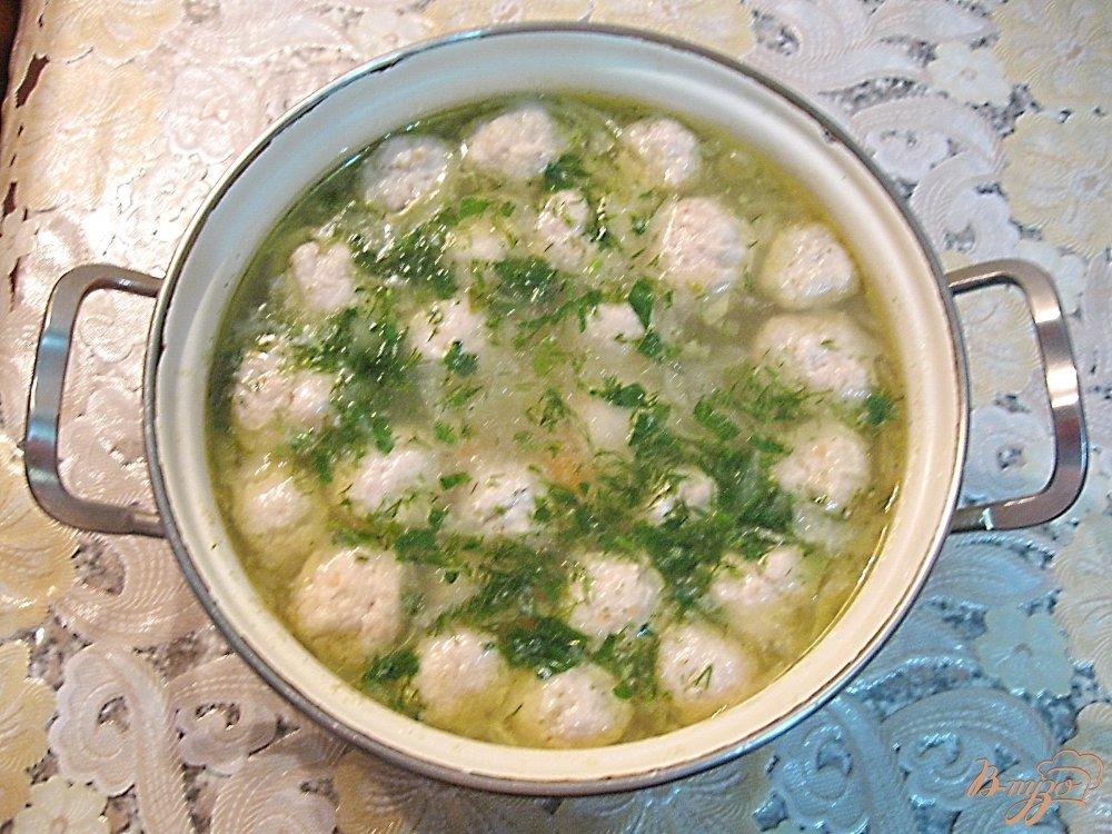 Суп овощной с фрикадельками пошаговый с фото