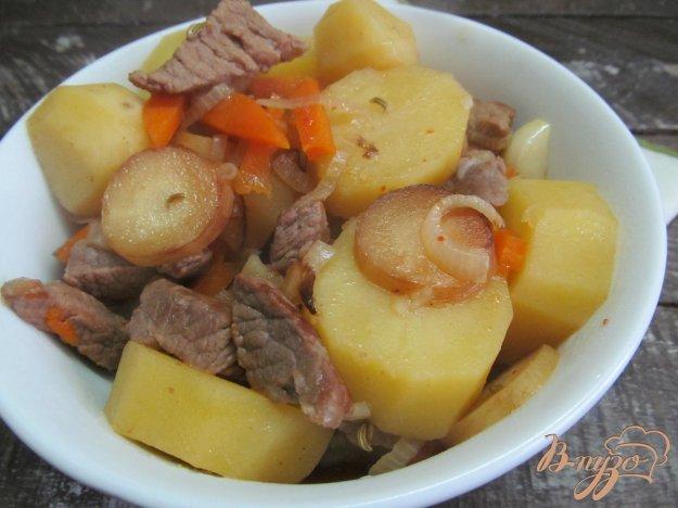 фото рецепта: Говядина с пастернаком и овощами