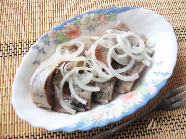 фото рецепта: Сельдь соленая в рассоле