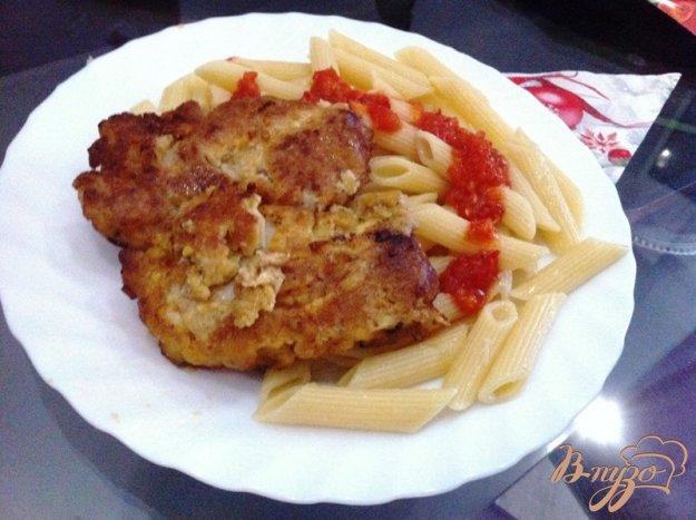 фото рецепта: Жаренная мякоть куриного бедра,