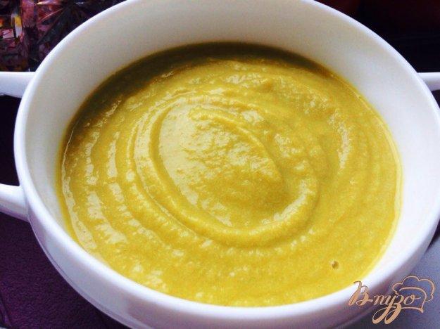 фото рецепта: Овощной суп-пюре с фрикадельками из индейки для деток
