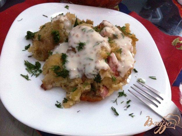 фото рецепта: Картофельная бабка в горшочках