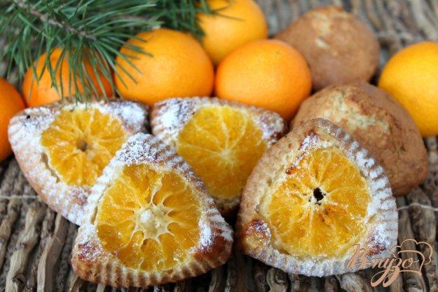 фото рецепта: Кексы с мандарином