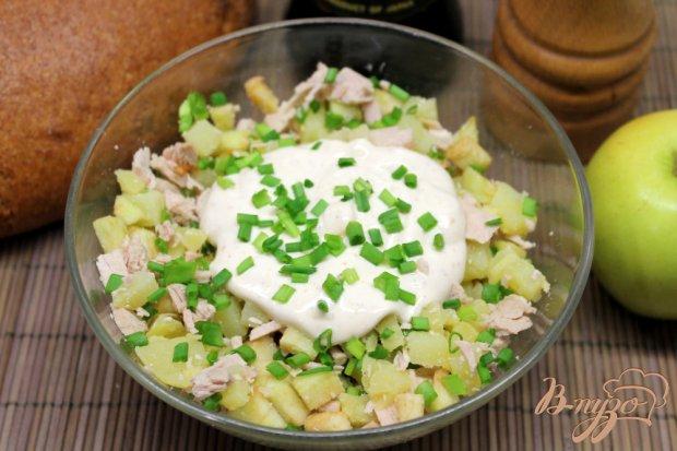 Рецепты мясных салатов без фото