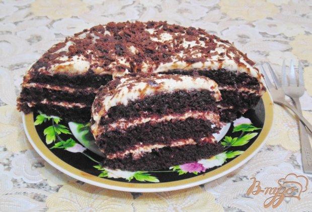Торт панчо с орехами и вишней рецепт