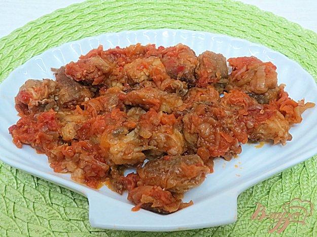 фото рецепта: Хек под овощным маринадом
