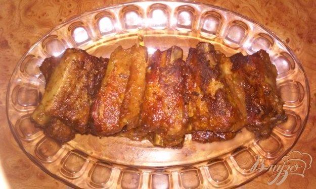фото рецепта: Запеченные свиные ребрышки