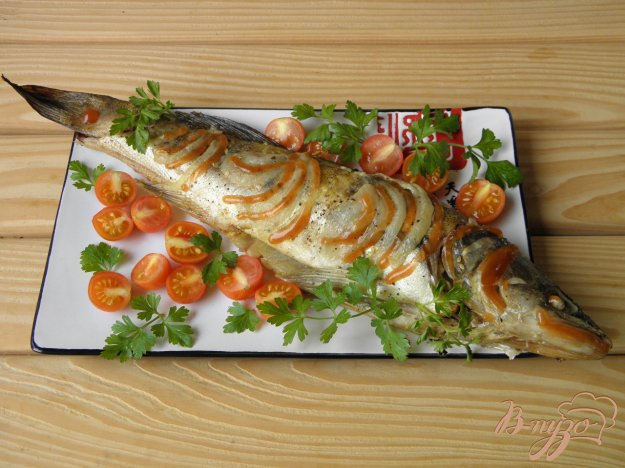 фото рецепта: Запеченный судак