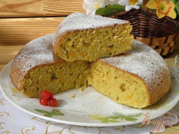 фото рецепта: Пирог из тыквы с имбирем и корицей