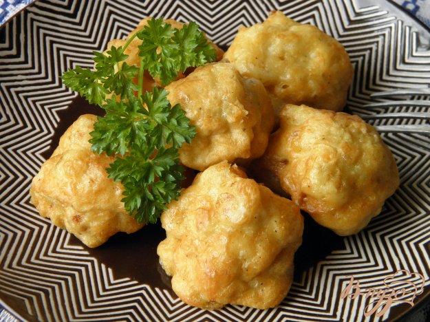 Цветная капуста в кляре с сыром пошаговый рецепт с