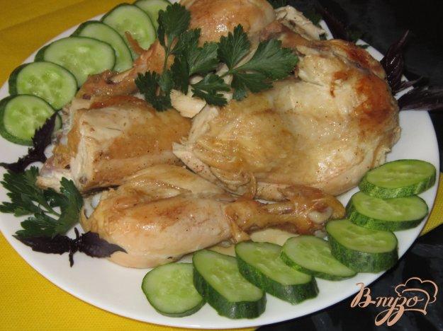 фото рецепта: Курица жареная, ароматная