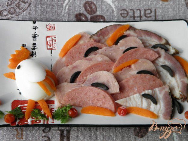 фото рецепта: Мясная нарезка