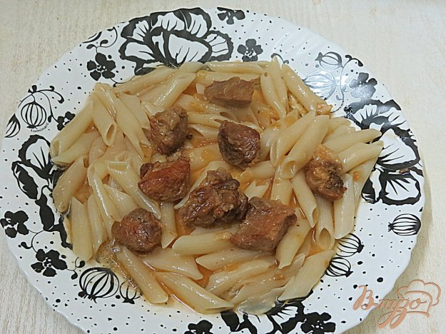фото рецепта: Свинина с загустителем соуса Ру
