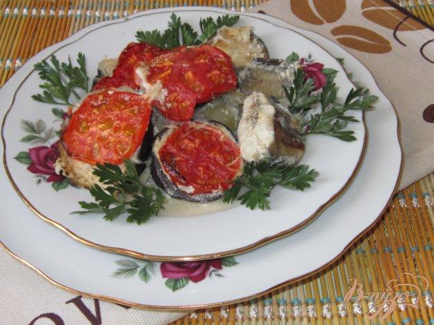 фото рецепта: Путассу под овощами