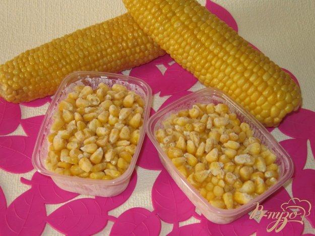 фото рецепта: Вареная кукуруза замороженная в зернах