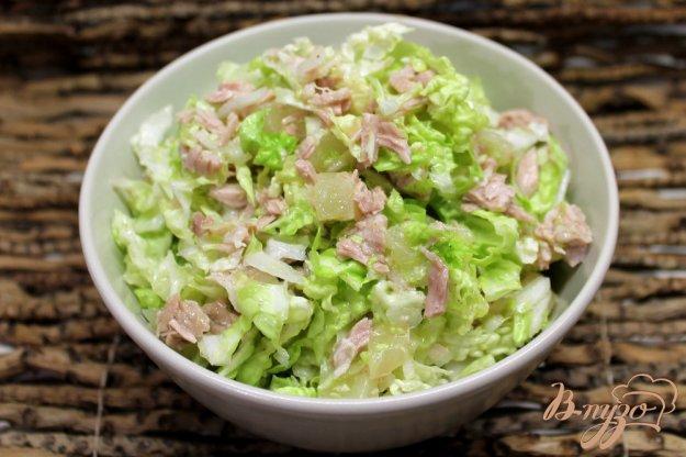 капуста с говядиной салат