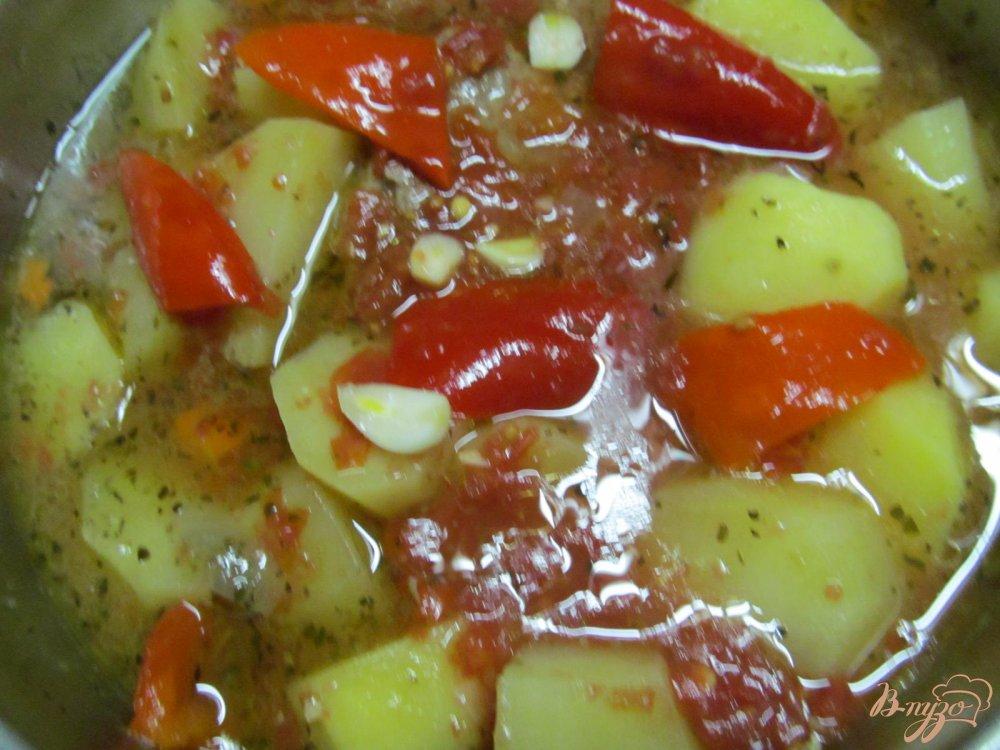 рагу с мясом и цветной капустой