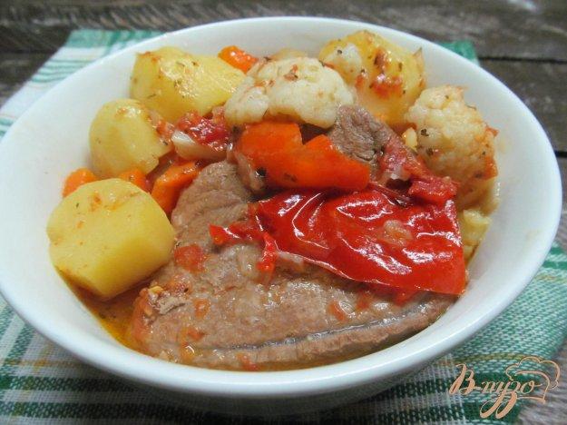 рецепт говядина с цветной капустой