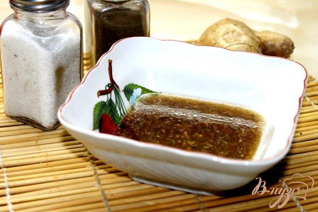 имбирная заправка для салата рецепт с фото