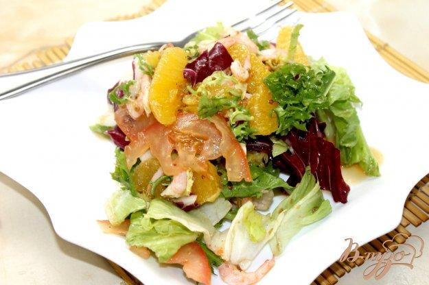 салат с креветками рецепт с салатом