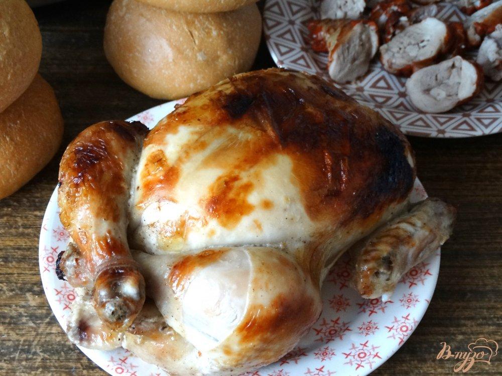 Курица целиком пошаговый с фото