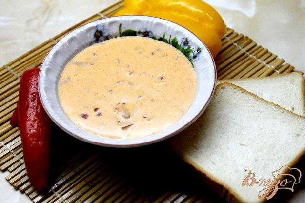 фото рецепта: Сливочный соус из болгарского перца