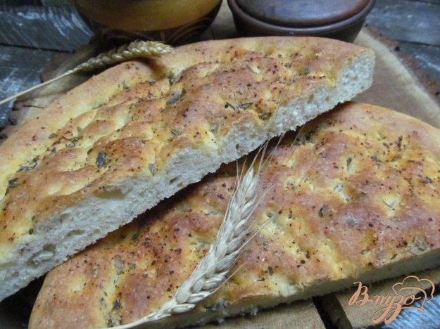 фото рецепта: Картофельная фокачча с шалфеем