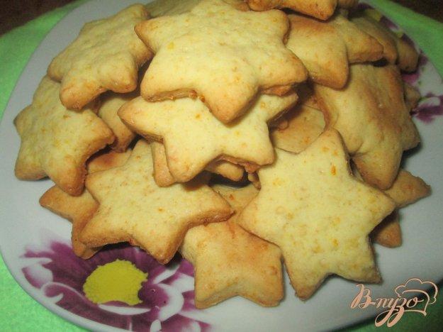 фото рецепта: Печенье с апельсиновой цедрой