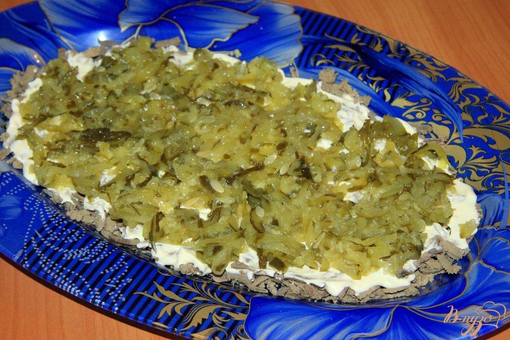 мой генерал салат пошаговый рецепт с фото