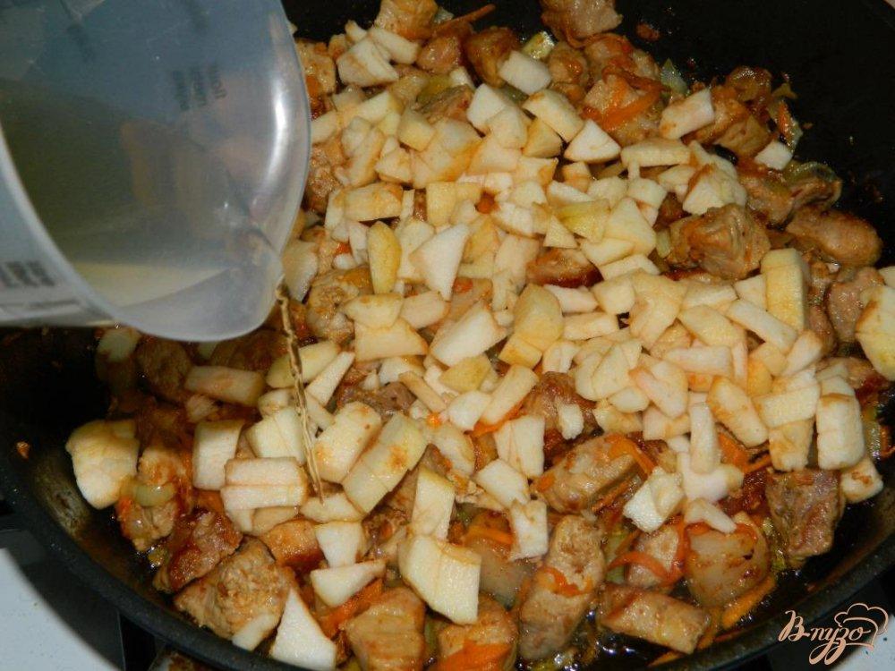 рецепты свинина в сливках в духовке рецепт
