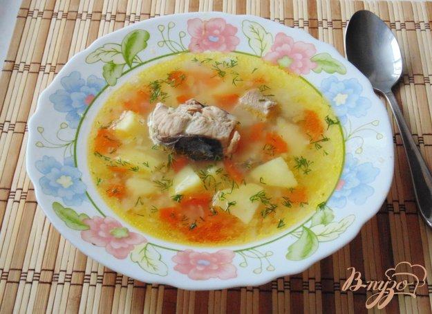 фото рецепта: Суп с горбушей и пшеном