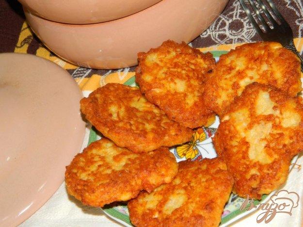 фото рецепта: Драники с сыром