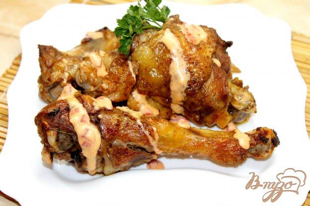 фото рецепта: Жареная курица с соусом