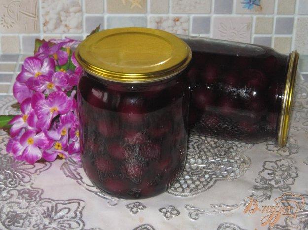 фото рецепта: Виноград консервированный в сладком сиропе