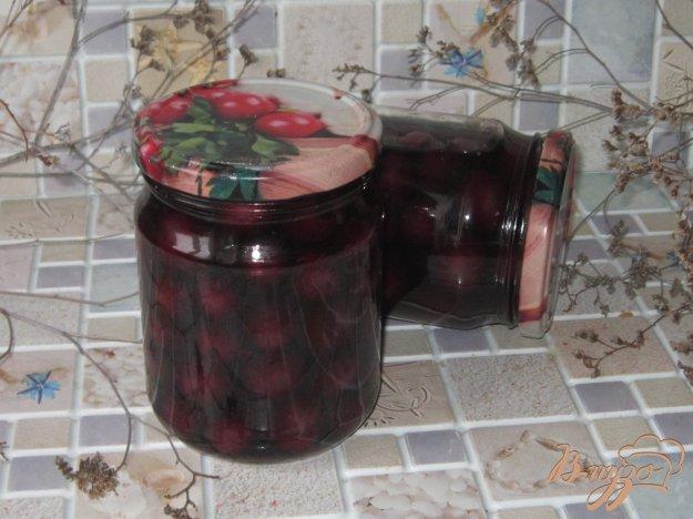 фото рецепта: Консервированный соленый виноград