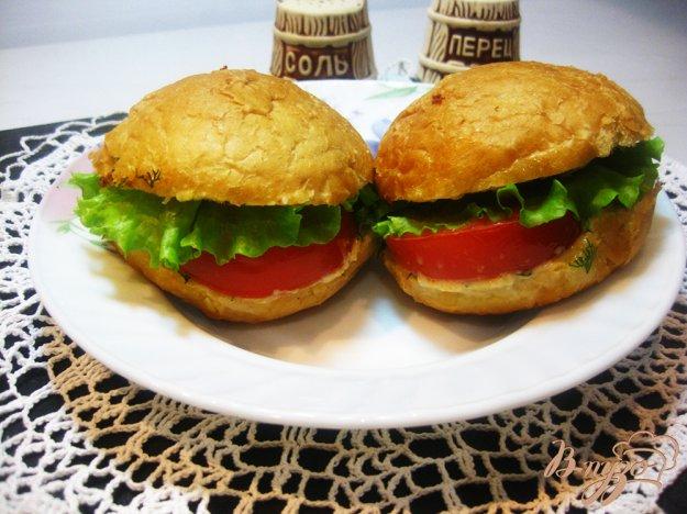 фото рецепта: Хот-дог с овощами