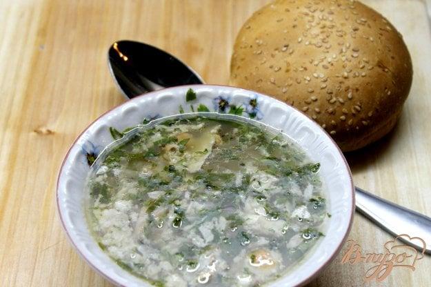 фото рецепта: Рыбный суп с потрохов лосося