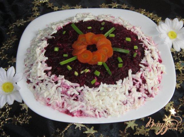 Салат маринованные грибы под шубой рецепт с