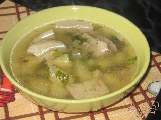 фото рецепта: Суп из антрекота с квашеной свеклой