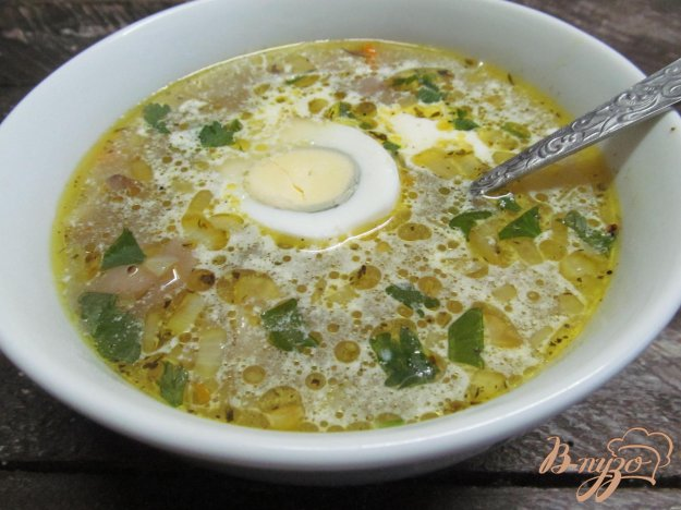 фото рецепта: Грибной суп с макаронами