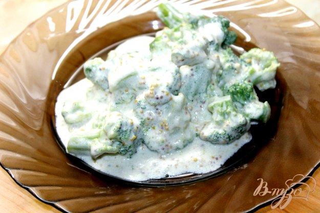 Брокколи в сливочном соусе рецепты с фото
