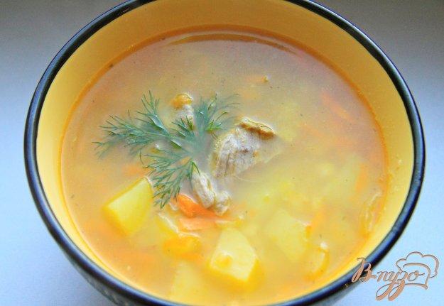 фото рецепта: Суп гороховый на мясном бульоне